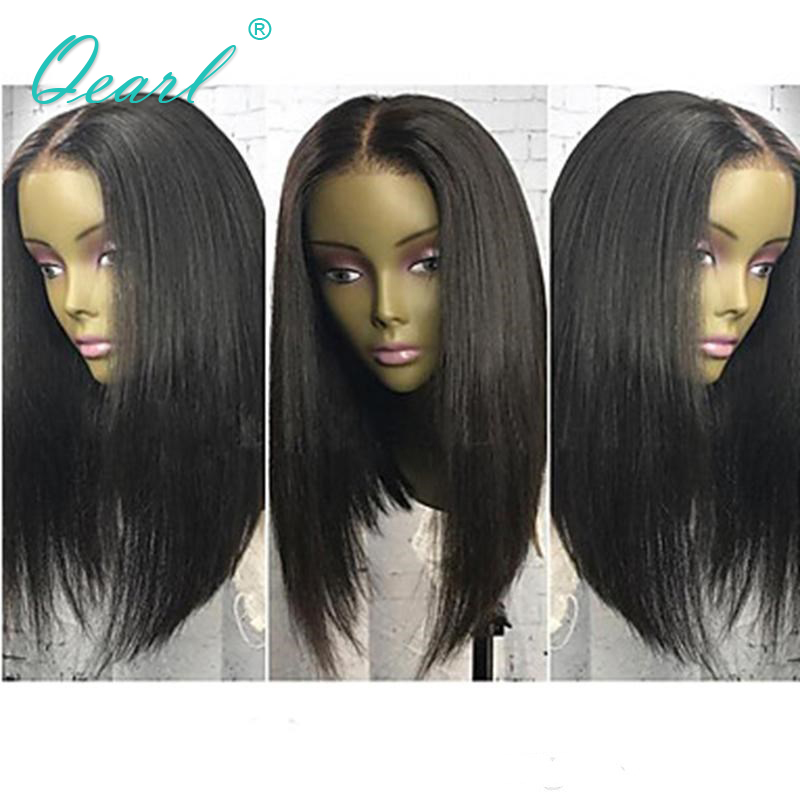 Qearl Hair Ntural Looking Lace Front Human Hair Wigs 150% Density Short Bob Human Hair Wigs Pre Plucked with Natural Hairline