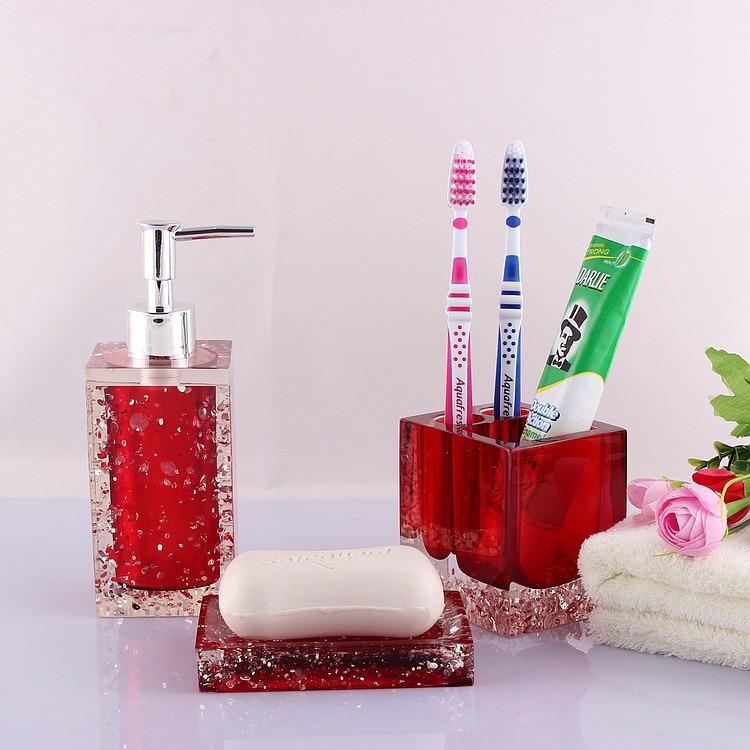 aliexpress com ice flowers five piece bathroom kit bath