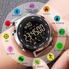 SYNOKE Смарт-часы мужские спортивные Шагомер водонепроницаемый напоминание о звонках Цифровые мужские Смарт-часы носимые устройства для ios Android телефон