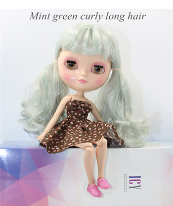 Icy Neo Blythe Doll Jointed Body Combo Blythe + Dress + Yellow Shoes + Box 30 cm