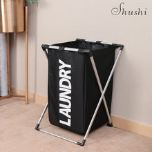 Shushi модная корзина для грязной одежды Складная Толстая оксфордская