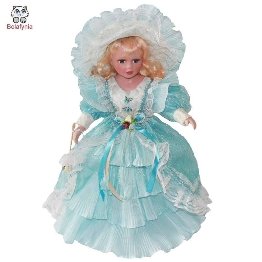 BOLAFYNIA Princess three color dress home decoration girl gift doll toy children baby toy for birthday Christmas gift