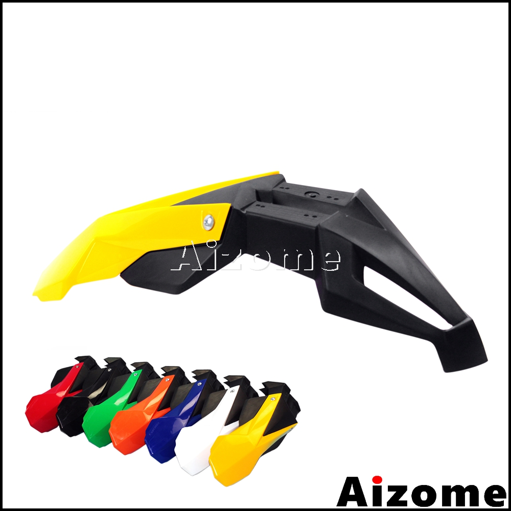 Universal Motorcycle Yellow Black Front Fender For Suzuki RMZ RM DRZ 125 250 450 Dirt Bike Supermoto Front Mudguard Mud GuardUniversal Motorcycle Yellow Black Front Fender For Suzuki RMZ RM DRZ 125 250 450 Dirt Bike Supermoto Front Mudguard Mud Guard