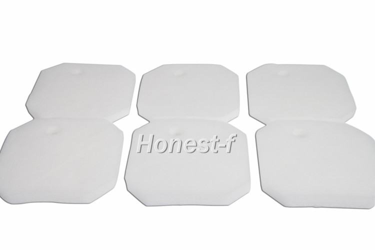 LTWHOME Replacement White Fine Filter Pad for Eheim 2616265 Professional Pro 2 2226/2326/ 2026/2128 and Experience 350
