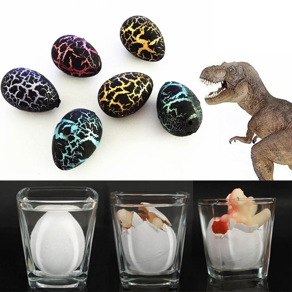 60Pcs Magic Hatching Growing Dinosaur Eggs Water Grow For Children Toys Gift Child Kids Educational Toys Gifts
