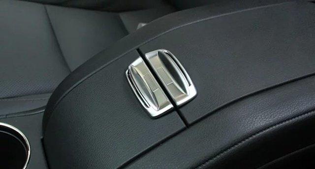 inner  armrest box button  trim  for Toyota Highlander 2015, Type B,auto accessories