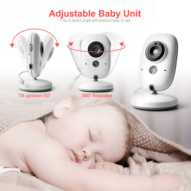 Wireless Baby Monitor With Night Vision