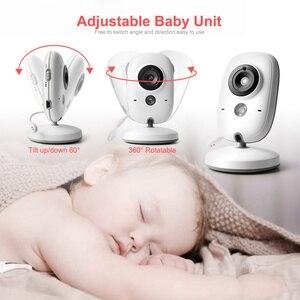 Image 3 - VB603 Video bebek izleme monitörü 2.4G kablosuz 3.2 inç LCD 2 yönlü ses konuşma gece görüş gözetim güvenlik kamera bebek bakıcısı