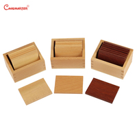 Montessori Math Toy Teaching Aids Wooden Weight Board Box Educational Brain Teaser Material Math Toys Baby Games SE023 3