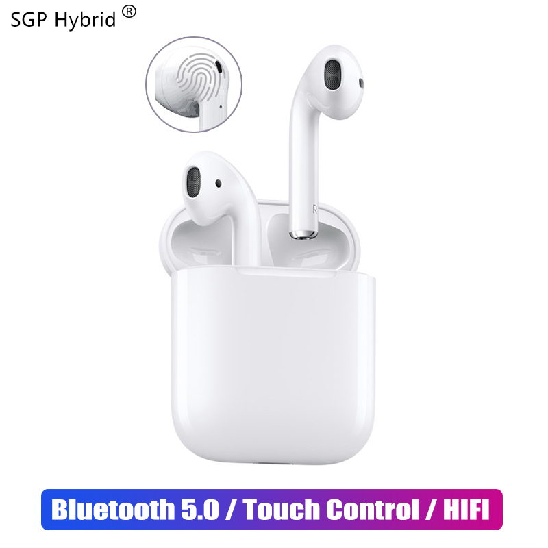 $29.52 i12 Smart Touch Mini TWS Bluetooth 5.0 Earphone Sports true Wireless Earbuds for Samsung Sony Apple iphone Music Stereo Headset