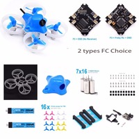 Unassembled Beta65S BNF Micro Whoop with F4 FC OSD Frsky receiver 716 17500KV motor 1S 260mah battery for Tiny Whoop Quadcopter