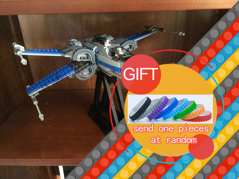 05029 740pcs Star Rebel X wing fighter Wars set Building blocks war Compatible with 75149 toys
