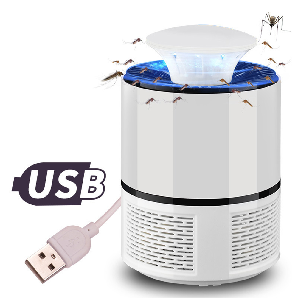 2018 Camping Tools USB Electronics Mosquito Killer Trap Moth Fly Wasp LED Bug Insect Lights Killing Pest Zapper Repeller 220V