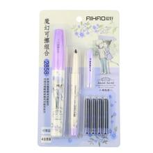 1 Pcs Cute Cartoon Doll Kit Interchangeable Ink Pen Bag Pen Upscale Gift Pen Creative Pen Suit Stationery(China (Mainland))