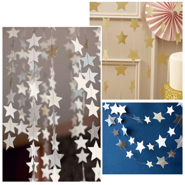 Star Design Garland