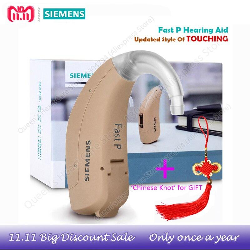 2018New Generation 4 Channels SIEMENS Bte miniHearing Aids Fast P Digital Wireless Hearing Sound Amplifiers Elderly