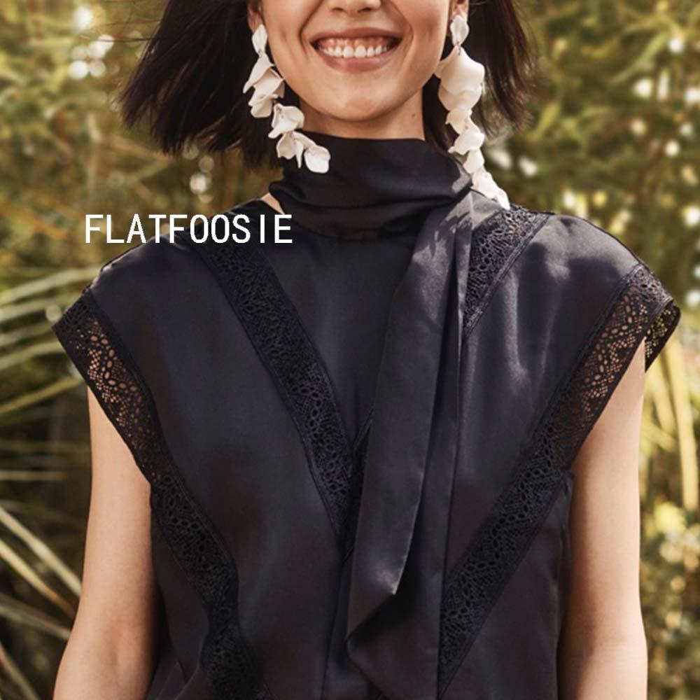 Flatfoosie Fashion Acrylic Resin Drop Earrings For Women Vintage Geometric Long Dangle Statement Earrings Wedding Party Jewelry 20