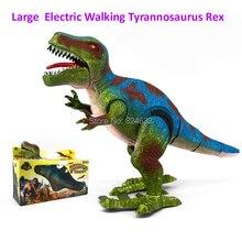Dinosaur toys model Jurassic Park Tyrannosaurus Rex electric walking toy Tyrannosaurus Rex gift for kids