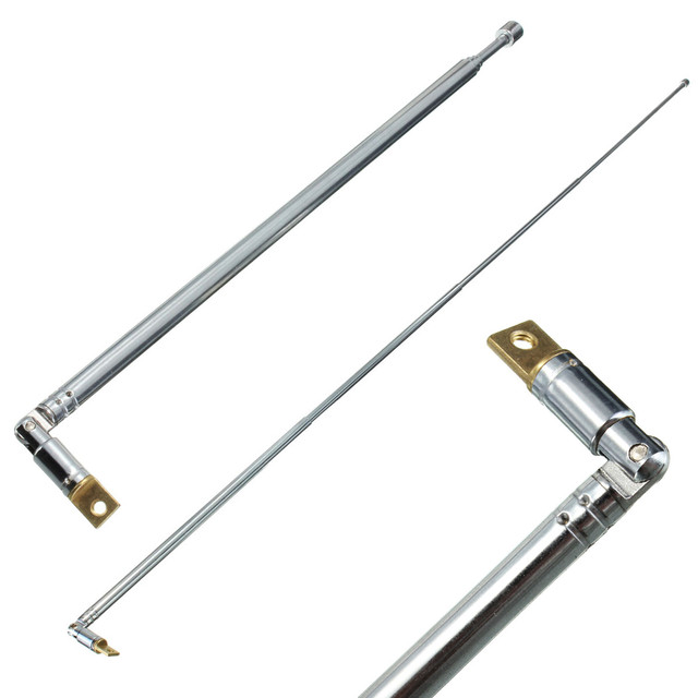 Hot Sale Durable 310991702355 AM FM Radio Telescopic Antenna Replacement 63cm Length 4 Sections Home Audio Video Equipments