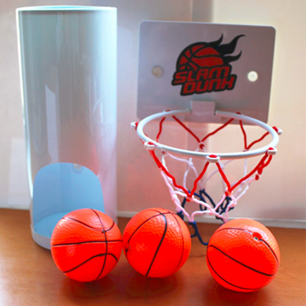 HWYHX YHX2017 NEW arrival  Funny Toilet Basketball Game Gadget -Prank Gift for Basketball Lovers hot pie cake to face gags practical jokes fun funny gadgets family game prank finger funny stress toys for kids gift
