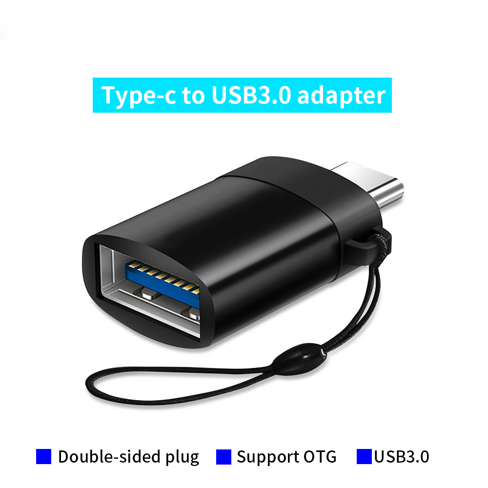 USB 3.0 OTG Adapter To Type C USB-C Charging Data Converter For Samsung S8 S9 Note 9 Note 8 Type-C Adapters