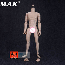 1/6 Scale Nude Body Action Figure Male Muscular Flexible Man Doll Toys