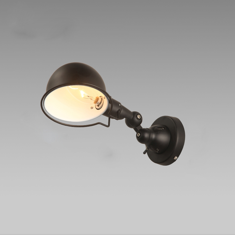 Modern wall mounted bedside reading lights arm wall lamp for modern wall mounted bedside reading lights arm wall lamp for bedroom vintage industrial wall sconces adjustable fixtures lustre in wall lamps from lights aloadofball Choice Image