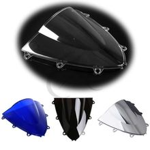 Motorcycle Windshield Windscreen Dual Bubble For Honda CBR1000RR CBR 1000RR 2008-2011 09 black motorcycle motorbike windshield double bubble windscreen wind deflectors air flow for honda cbr1000rr cbr 1000rr 2004 2007
