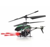 Новые WL игрушки v3987.4v 3.5 канальный вертолет с ракетной Старт 360 градусов вращения ракета Старт ING