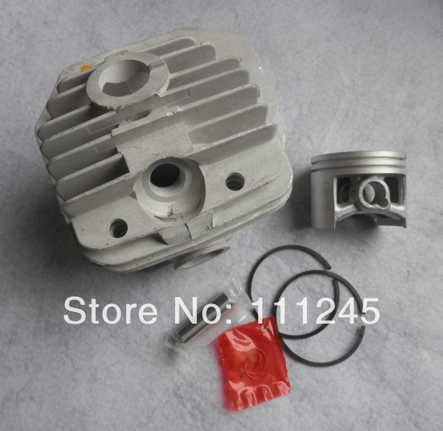 MS440 CYLINDER KIT 50MM FOR CHAINSAW ST. 044 2 CYCLE CHAIN SAW ZYLINDER KOLBEN PISTON RING PIN CLIPS ASSEMBLY 11280201227 manufacturers 5200 chainsaw cylinder assy cylinder kit 45 2mm parts for chain saw 1e45f on sale