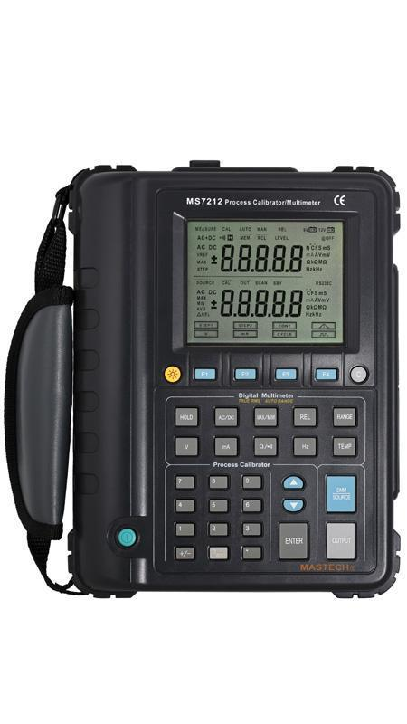 MASTECH MS7212 Multifunction Process Calibrator Correction Voltage and Current Frequency RS232 USB Signal generator hantek ht824 multifunction process calibrator correction voltage and current frequency usb signal generator industry inst