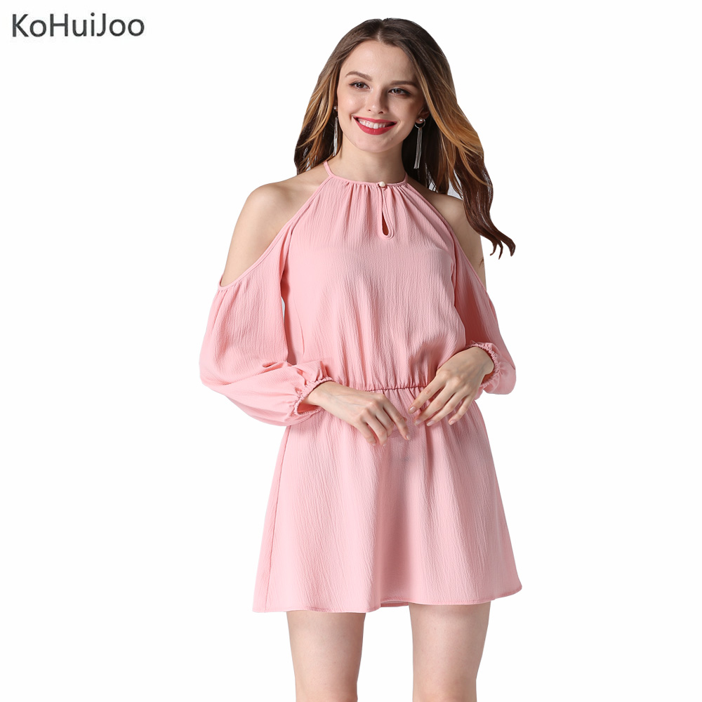 KoHuiJoo 2017 Sexy off Shoulder Summer Dress Women Long ...