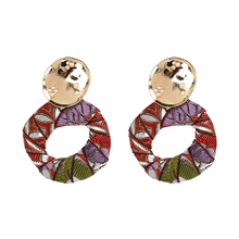 Boho Maxi Earrings Jewelry Ethnic Colorful Design Statement Drop Dangle Earrings For Women  Brincos Pendientes