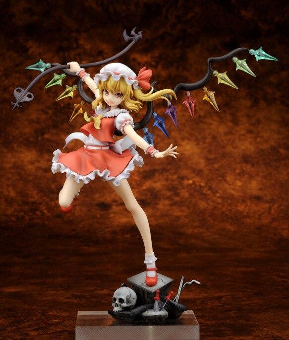 где купить  1pcs Touhou Project Remilia 2.Ver Flandre Scarlet action pvc figure model tall 23cm for Collection.  дешево