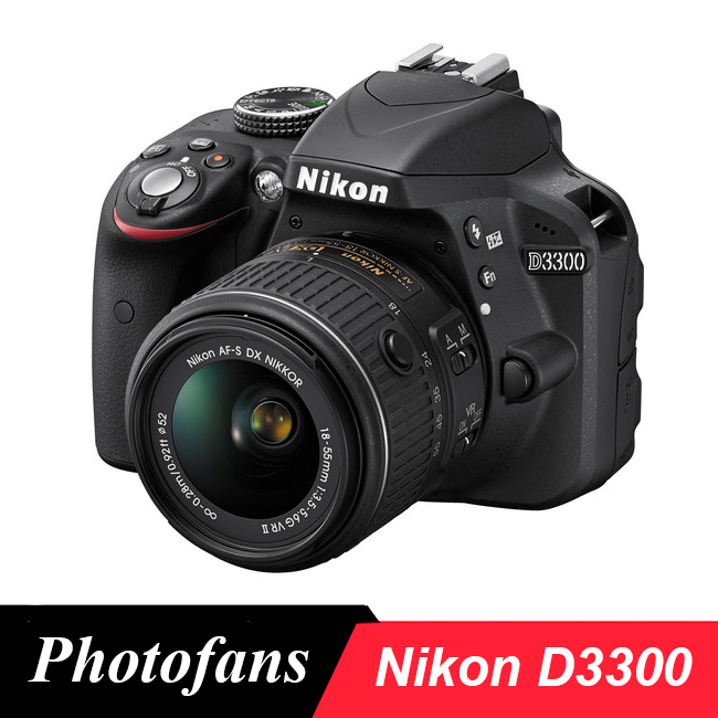 Nikon  D3300 DSLR Camera with 18-55mm Lens -24.2MP -Video (Brand New)