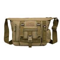 Military Tactical Cross Body Shoulder Messenger Bag High Quality Design Men 1000D Nylon School Travel Hiking