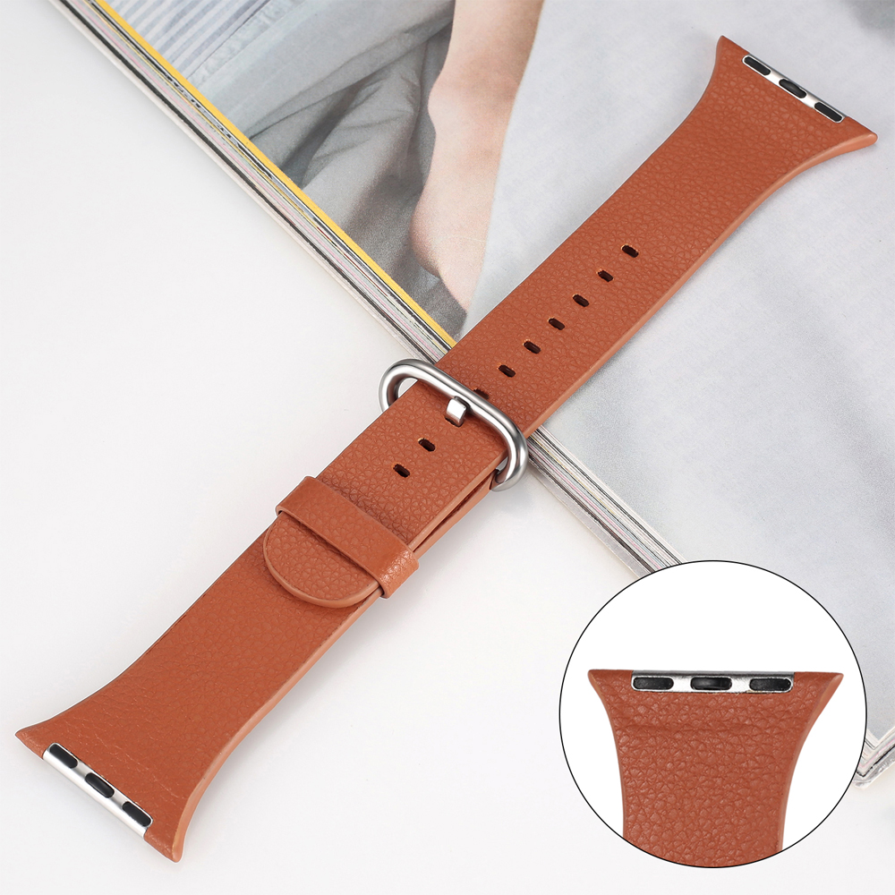 Genuine Leather strap for apple watch series 4/3/2/1 band 42mm/38mm/44mm/40mm correa bracelet wrist belt for iwatch Genuine Leather strap for apple watch series 4/3/2/1 band 42mm/38mm/44mm/40mm correa bracelet wrist belt for iwatch