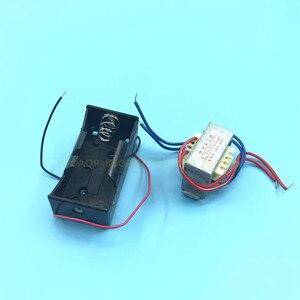 Image 4 - Электронная трубка постоянного тока, средняя/короткая волна, двухстороннее радио, два диапазона, электронная трубка, радио Набор diy kit