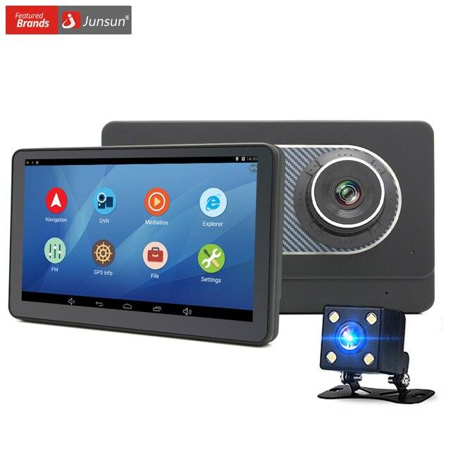 Junsun 7 дюймов Android 4.4 Автомобиль Грузовик GPS Навигации с DVR Камеры рекордер FM WI-FI спутниковой навигации Навигатор Навител Карта Бесплатные Пожизненные Обновления