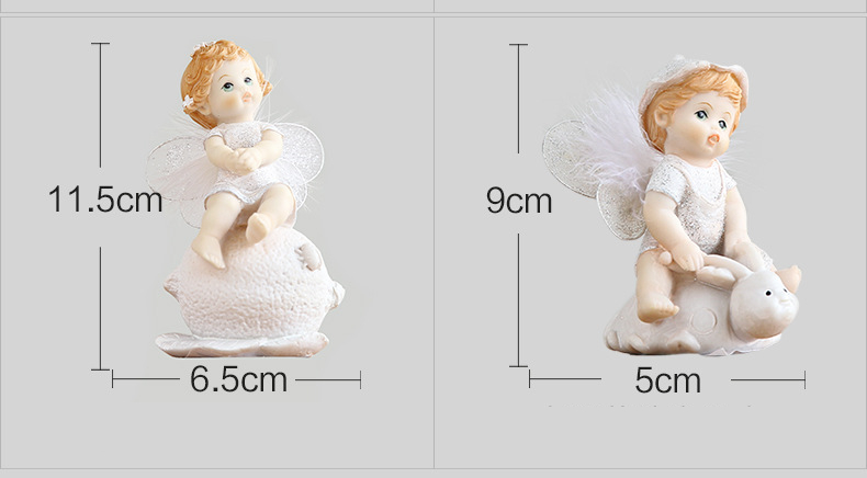 Cute Baby Angel Figurine (9)