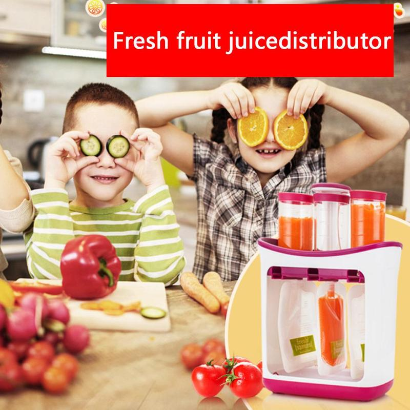 10pcs Insulation Bags+ Food Grinder Baby Food Maker Feeding Containers Storage Supplies Toddler Food Pouche Fresh Squeezed Tool