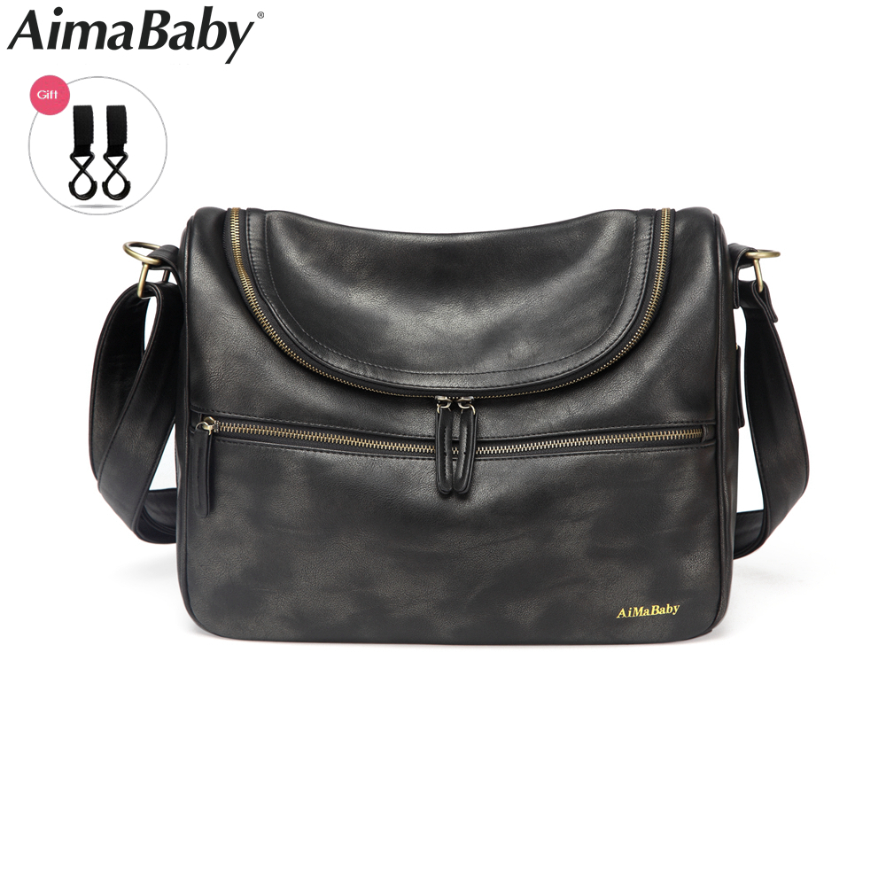 Aimababy Diaper Bag Organizer For Stroller Luiertas Waterproof Baby Maternity Bags For Mom Diaper Wet Bag Changing Nappy Bags thermal insulation baby diaper bag for stroller waterproof nappy changing bags mommy stroller cart bag cooler bag for mom