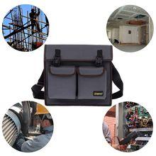 Многофункциональная сумка на плечо, набор инструментов для электрика, водонепроницаемый чехол из ткани Оксфорд 600D, уплотненный