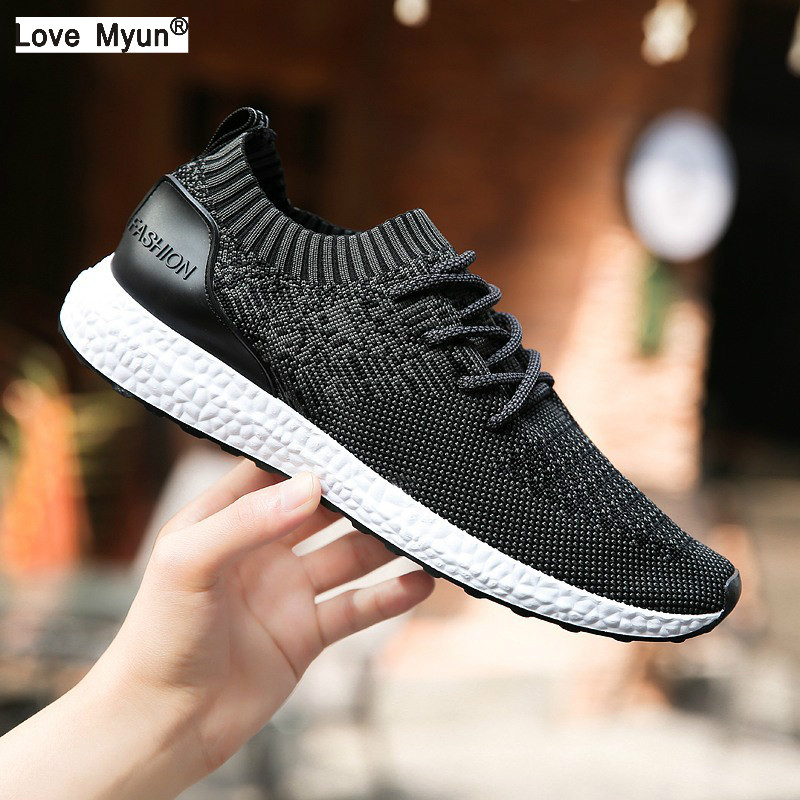 Men Casual Shoes Lightweight Breathable Flats Men Shoes footwear loafers Zapatos Hombre Casual Shoes Men chaussure homme Size 99 2017new men casual shoes elastic breathable massage flats shoes spring summer men s flats men sapatos chaussure homme masculinos