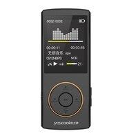 Yescool X1 Toplantı için 8 GB Profesyonel Taşınabilir Dijital Ses Kaydedici E-kitap Eğitim Sınıfı Şarj Edilebilir HIFI MP3 MP5 BK
