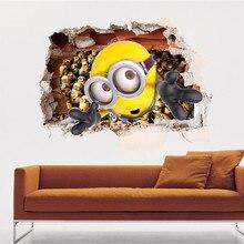 Despicable Me 2 Minions DIY Wall Sticker