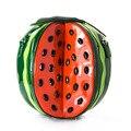 2016 novo Europeu requintado artesanal de frutas melancia saco sacos de moda bolsa bolsa de ombro