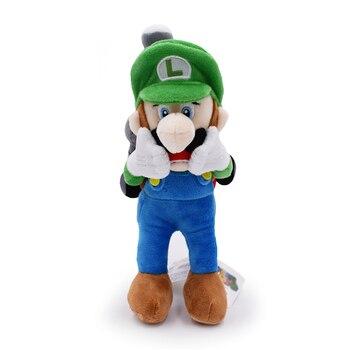 22CM New Arrival Super Mario Luigi Plush toys horror Luigi With Tag dolls Mansion 2 Luigi Plush Toys For Christmas Gift фото