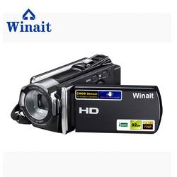 Winait FULL hd 1080P Digital video camera with 2.7 TFT display and 16x digital zoom digital camcorder free shipping