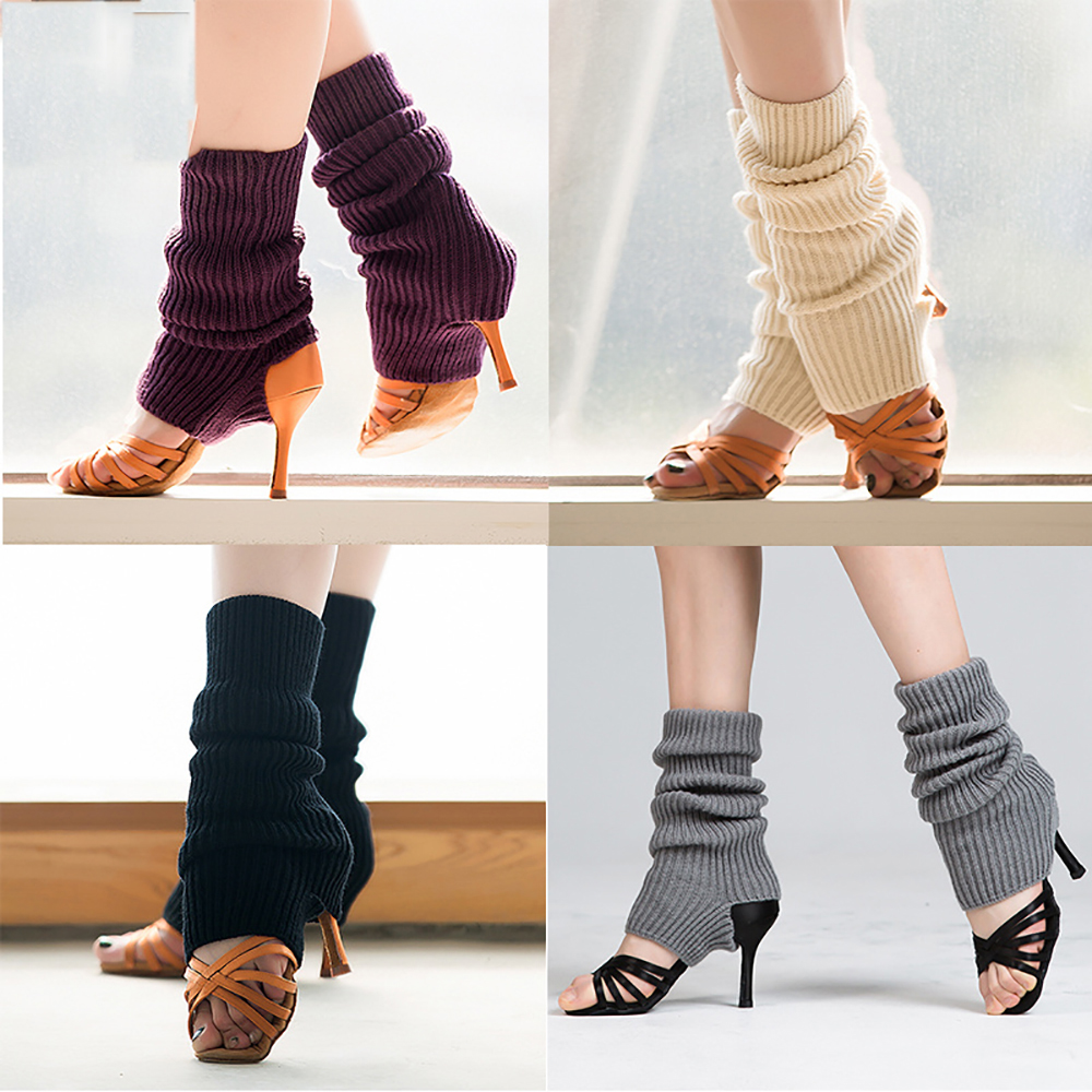 Original Latin Dance Socks For Ladies Black Grey Purple Cotton Silk Stocking Comfort Women Female Ballroom Profession Sock W1226